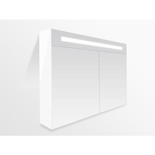 spiegelkast 120 x 70 cm met indirecte LED verlichting inclusief ...