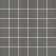 Sanitairstunthal Unit Four tegelmat 30x30 cm. blok 5x5 cm. doos a 11 stuks donker grijs
