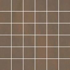 Sanitairstunthal Unit Four tegelmat 30x30 cm. blok 5x5 cm. doos a 11 stuks donker bruin