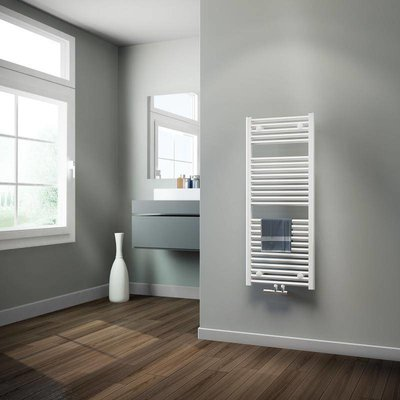 badkamer radiator 500 x 1215 wit 5 jaar garantie - De Sanitairstunthal