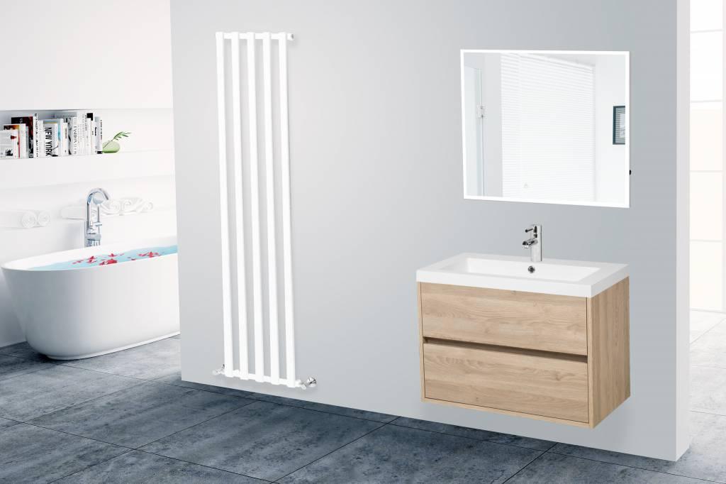 Zoek niet verder naar een greeploos houten badkamermeubel badmeubel