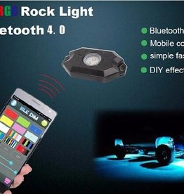 Boat RGB 4-LED Deck lights and underwater