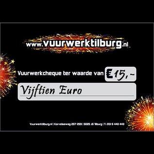 Vuurwerk Tilburg Vuurwerkcheque