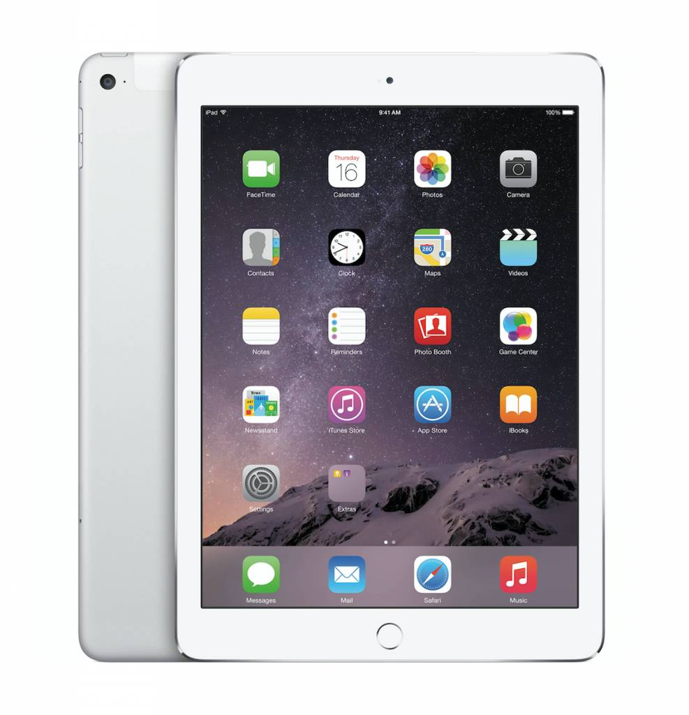 iPad Air WiFi Cell 16GB space grijs MD791FDA
