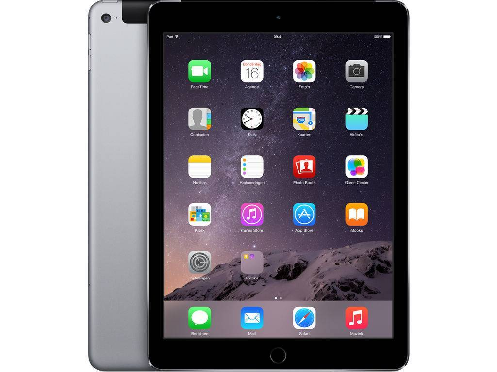 iPad Air WiFi Cell 32GB zilver MD795FDA