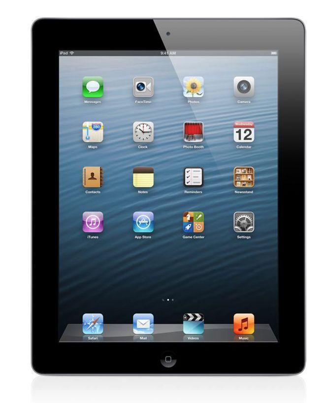 Refurbished iPad 4 16GB WiFi + 4G Zwart