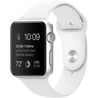 Refurbished Apple Watch Sport 42mm Zilver / Wit