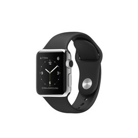 Refurbished Apple Watch 42mm zilver (RVS)
