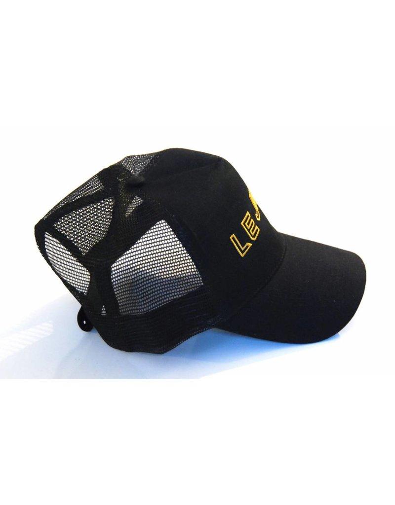 Black/Gold Trucker Cap