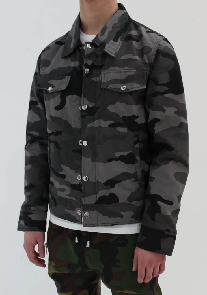Black Camo Jacket