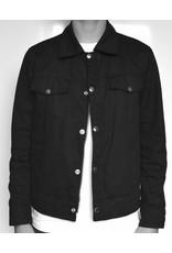 Black Trucker Jacket