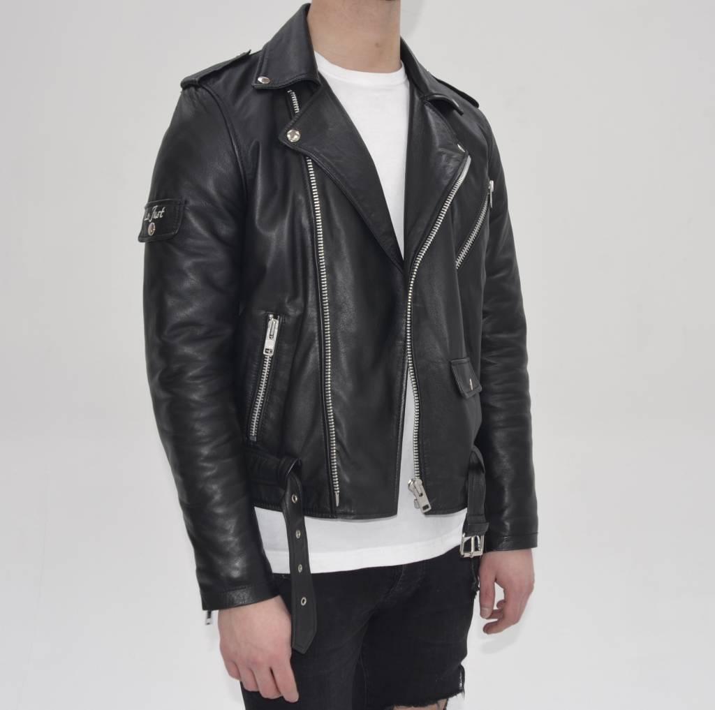 Black Leather Biker