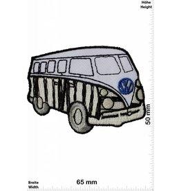 VW,Volkswagen VW Bus - Bully - zebra -schwarz / weiss