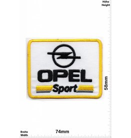 Opel Opel Sport - gelb