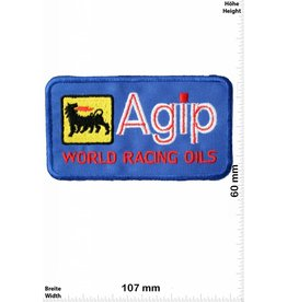 Agip Agip World Racing Oils - blau