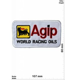 Agip Agip World Racing Oils - white