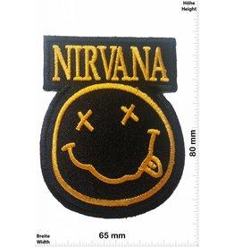 Nirvana Nirvana - Smiley - schwarz/gold