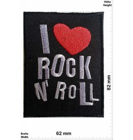 Rock n Roll I love Rock n Roll - mit Herz