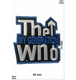 The Who The Who my Generation- 8 CM