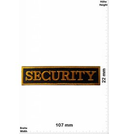 Security SECURITY gold 10 CM