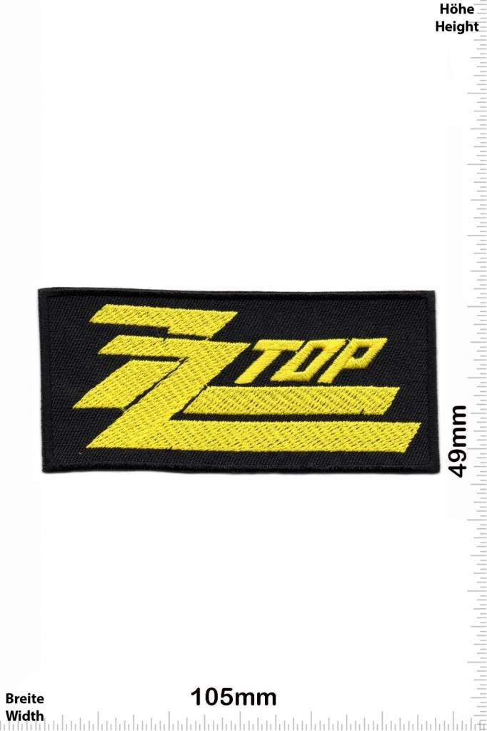 Zz Top Patch Yamaha