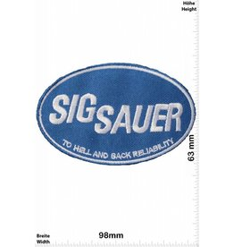 Sig Sauer Sig Sauer - blau - To Hell and Back