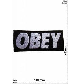 Obey Obey - schwarz / schwarz
