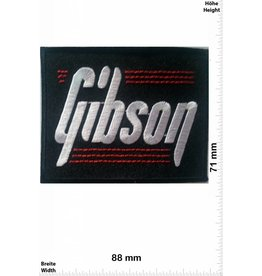 Gibson Gibson - schwarz / rot