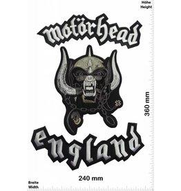 Motörhead Motörhead England  BIG 36CM 3 teilig
