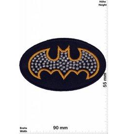 Batman Patch -Batman - gold - silber -