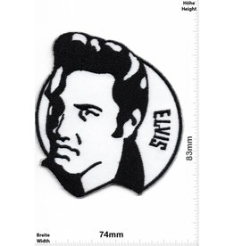 Elvis Elvis - black white