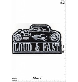 Patch I Loud & Fast - Hotrod  - HQ