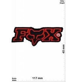 Fox FOX - rot schwarz - BIG  -