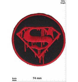 Superman Superman - schwarz -   blutig