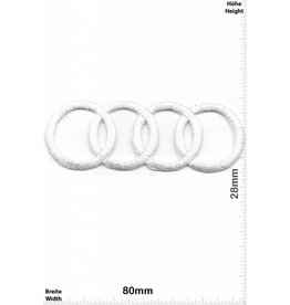 Audi Audi - Rings - white - very delicate and expensive to produce - HQ