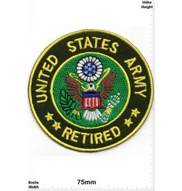 U.S. Navy United States Army - Retired - USA Patch