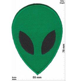 Alien grün Alien - Head - Mask - Kopf - grün -