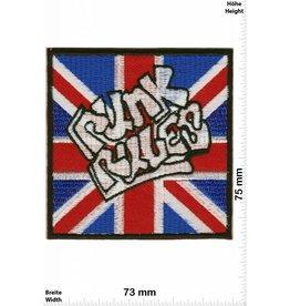 Punks Punk Rules - UK - union jack