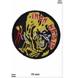 Iron Maiden Iron Maiden - gold face  -Music