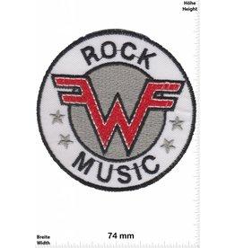 Weezer WEEZER Rock Music - rund - weiss