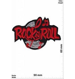 Rock n Roll Rock n Roll - silber  rot  - LP -Music