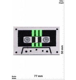 DJ Music Cassette - Tape - Oldschool - grün- Music
