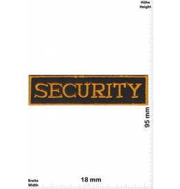 Security Security - gold - klein