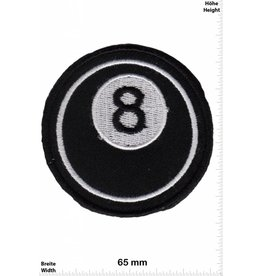 8 Ball Billiards 8 - Black 8 - 8 Ball