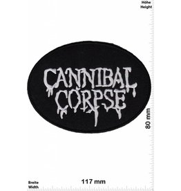 Cannibal Corpse Cannibal Corpse - oval - schwarz