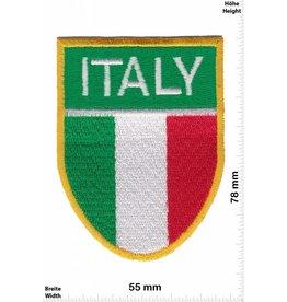 Italien, Italy ITALY - Italien Wappen - Flagge