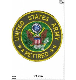 U.S. Navy United States Army - Retiered
