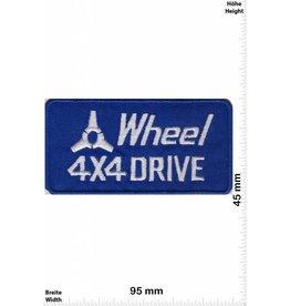 4 Wheel  4 Wheel 4x4 Drive - Racing Team - blau