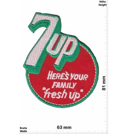 "7up 7up - heres your Family ""fresh up"" - US"