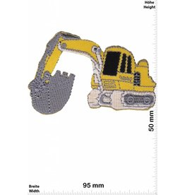 Bagger yellow Excavator